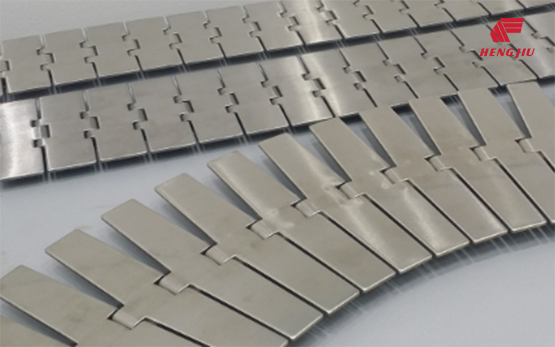 Stainless-Steel Flat Top Chain